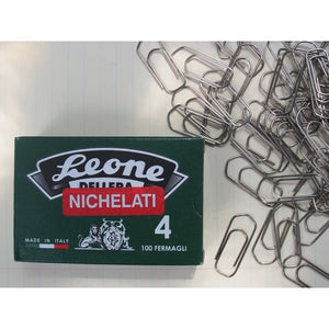 #4 Large Nickel Paperclips - 100pc Box