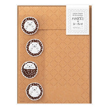 Load image into Gallery viewer, Midori Hedgehog Letter Set w/ Stickers