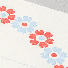 Load image into Gallery viewer, Flower Letterpress Letter Set