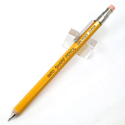 Mini Wooden Mechanical Pencil - Yellow