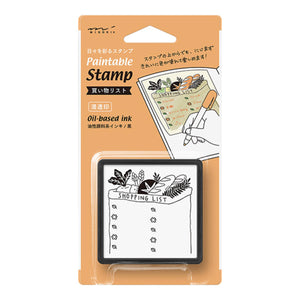 MD Paintable Stamp - Shopping List