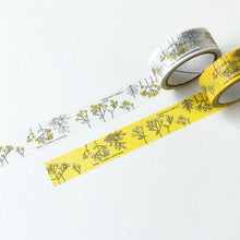 Load image into Gallery viewer, Botanical Garden Washi Tape - Yellow Tansy