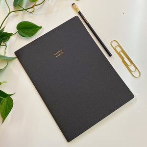 Monthly Planner - Large Blank Undated