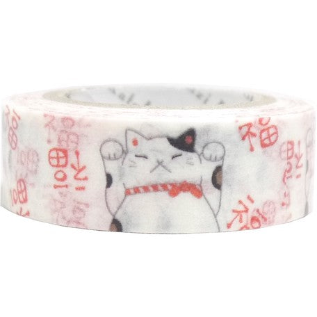 Lucky Cat Washi Tape
