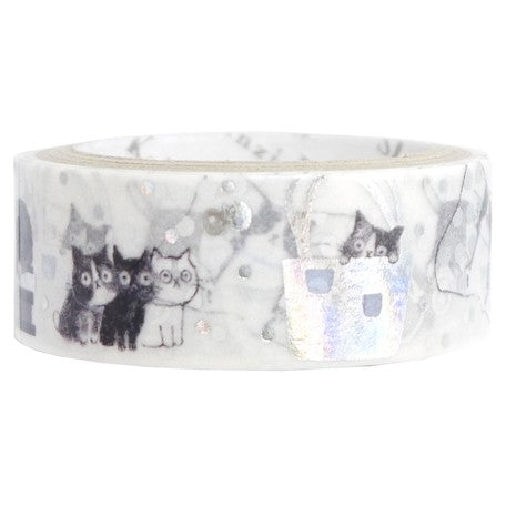 Cat Foil Washi Tape