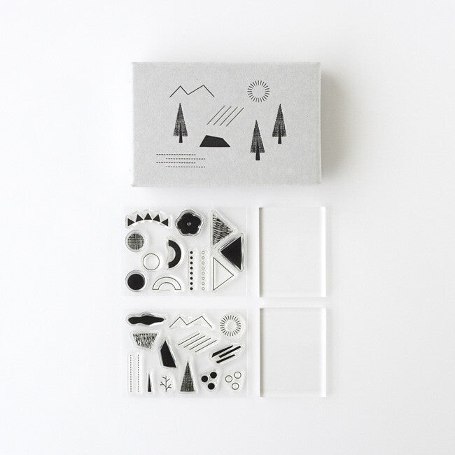 Nature Clear Stamp Set