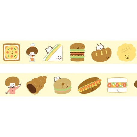 Mizutama Washi Tape - Cute Sandwiches