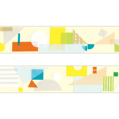 Huminona Washi Tape - Colorful Shapes