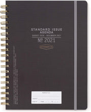 Load image into Gallery viewer, Black Standard Issue Planner (2020-2021) - Monthly