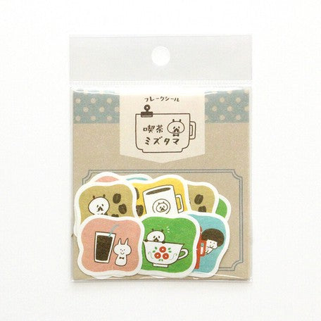 Cafe Friends - Mizutama Sticker Pack
