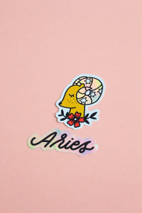 Horoscope Sticker Set - Aries