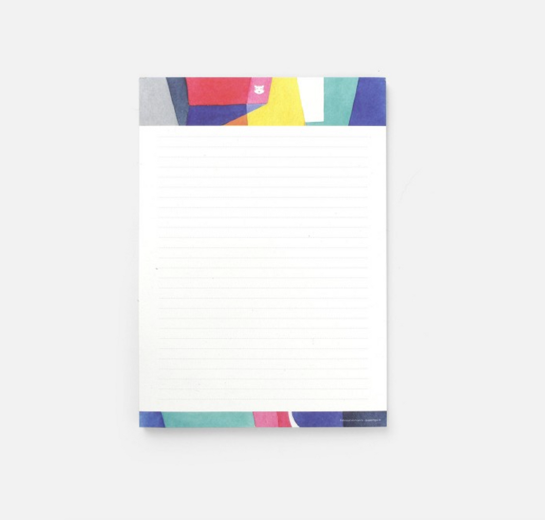 Memo Ruled Notepad