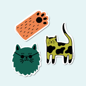 Cat Vinyl Sticker Pack
