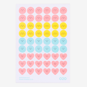 Moods Sticker Sheet