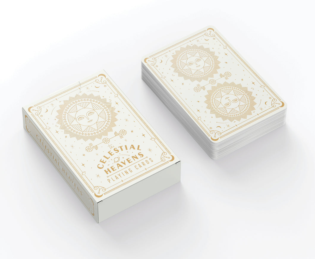 Celestial Heavens - Card Deck