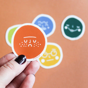 Face Vinyl Sticker Pack