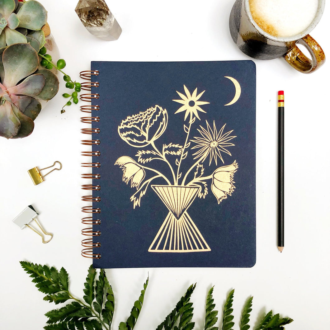 Flower Vase Planner - Dated