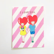 Load image into Gallery viewer, I Love You Couple Card