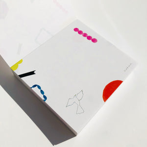 Block Memo Pad - Bird