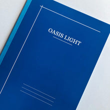 Load image into Gallery viewer, Oasis Light Notebook B5