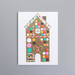 Gingerbread House Mini Card