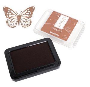 Hiwada Shachihata Ink Pad - Light Brown