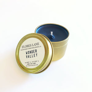 Wonder Valley - Sage & Cactus & Campfire Travel Candle