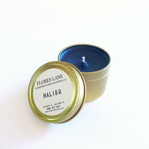 Malibu - Sage & Citrus Blend Travel Candle