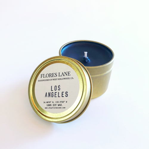 Los Angeles - Palo Santo & Cardamom Travel Candle