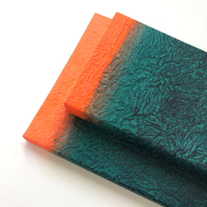 GugimFolio Notebook - Green/Orange