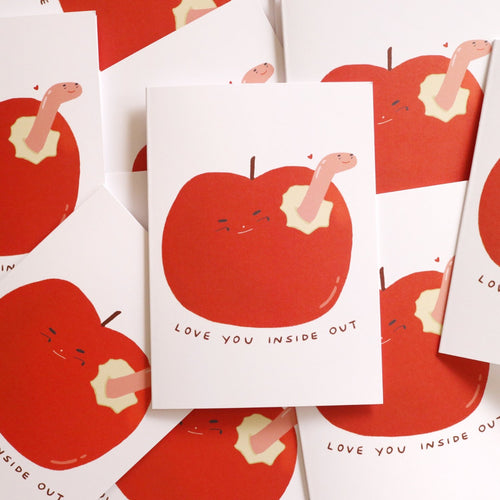 Love You Inside Out Card