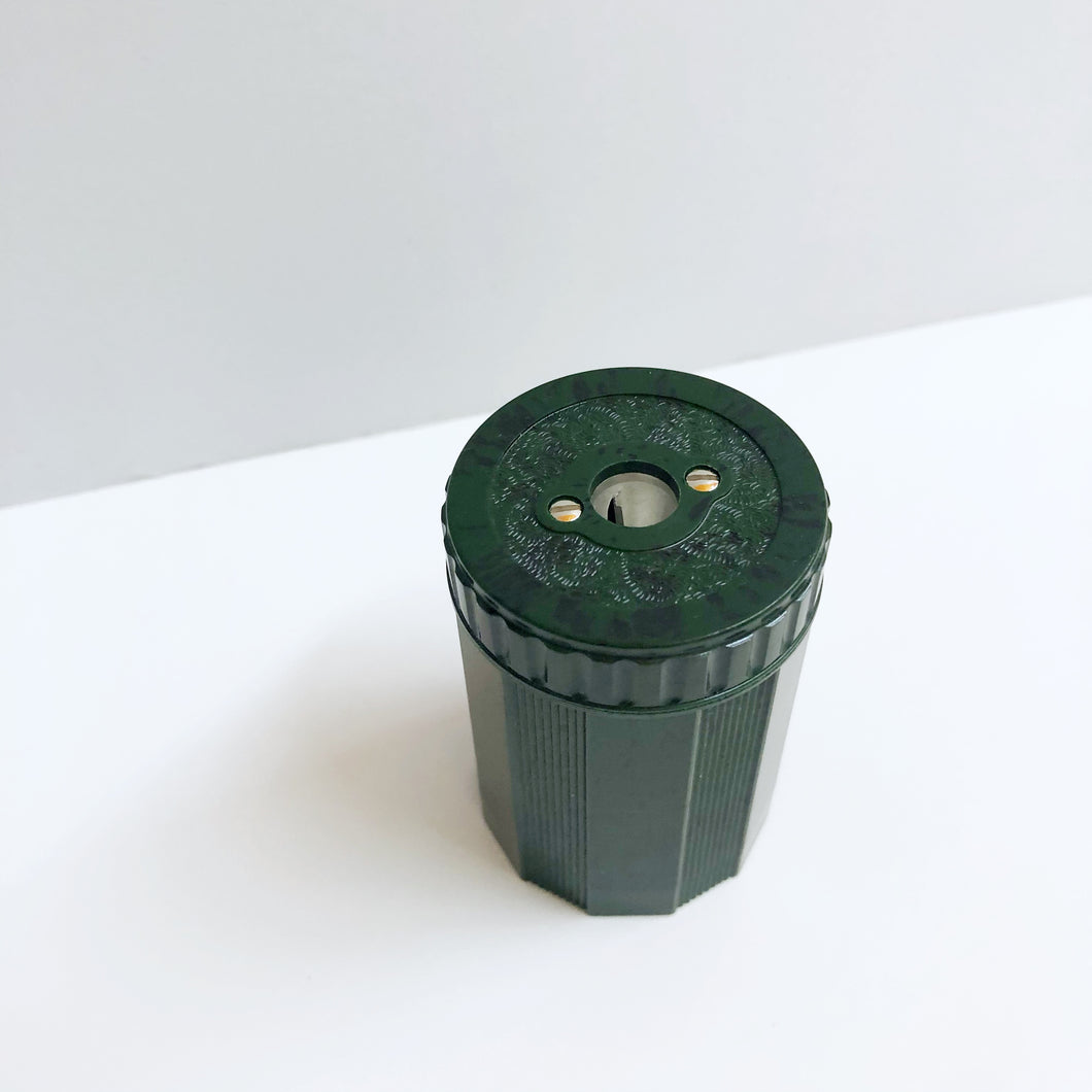 Single Duroplastic Sharpener - Green