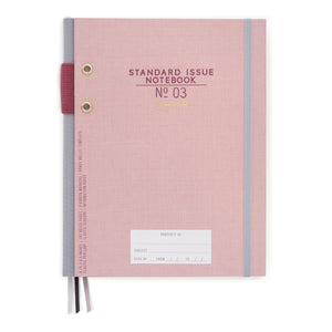 Dusty Pink Standard Issue Hardcover Planner - Undated
