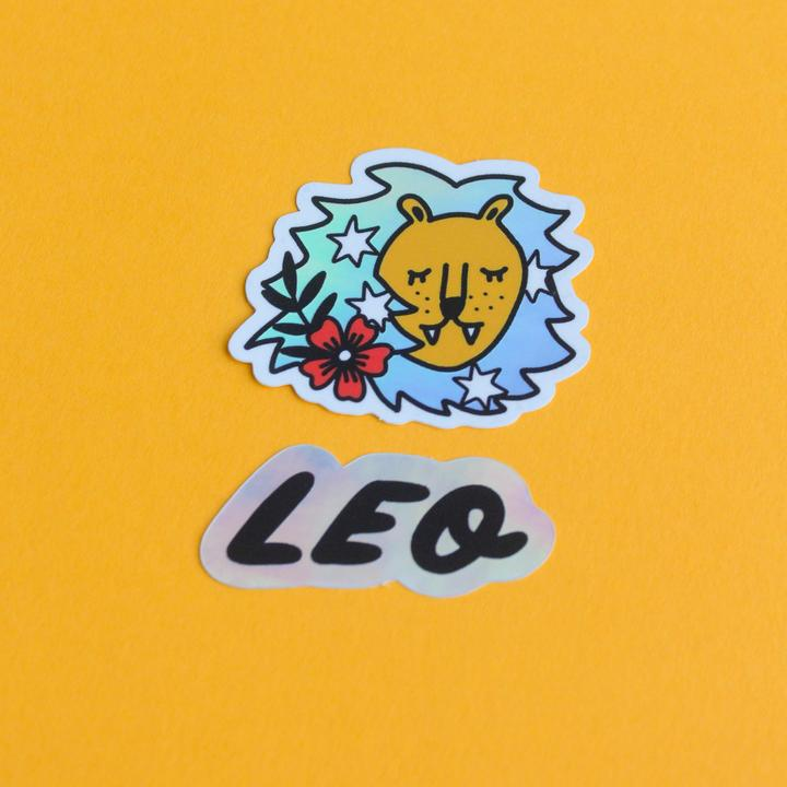 Horoscope Sticker Set - Leo