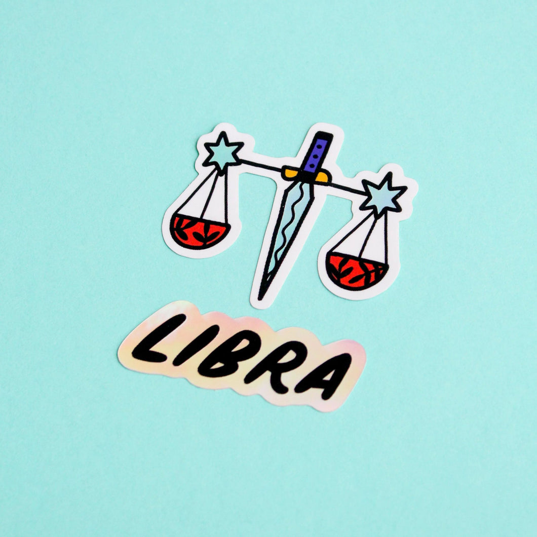 Horoscope Sticker Set - Libra