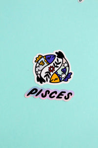 Horoscope Sticker Set - Pisces