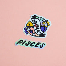 Load image into Gallery viewer, Horoscope Sticker Set - Pisces