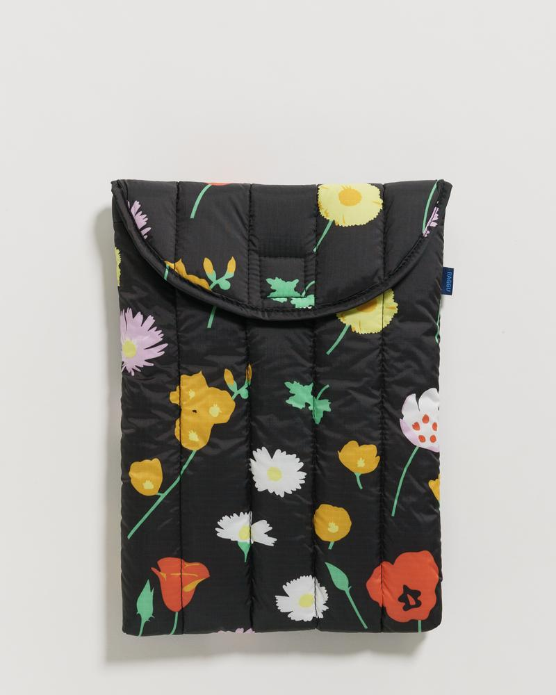 Desert Wildflower Puffy Laptop Sleeve 13