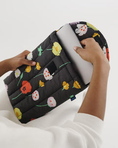 "Desert Wildflower Puffy Laptop Sleeve 13"" - Baggu"