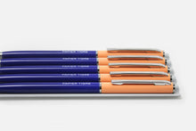 Load image into Gallery viewer, Two Tone Ballpoint Pen - Cobalt/Salmon