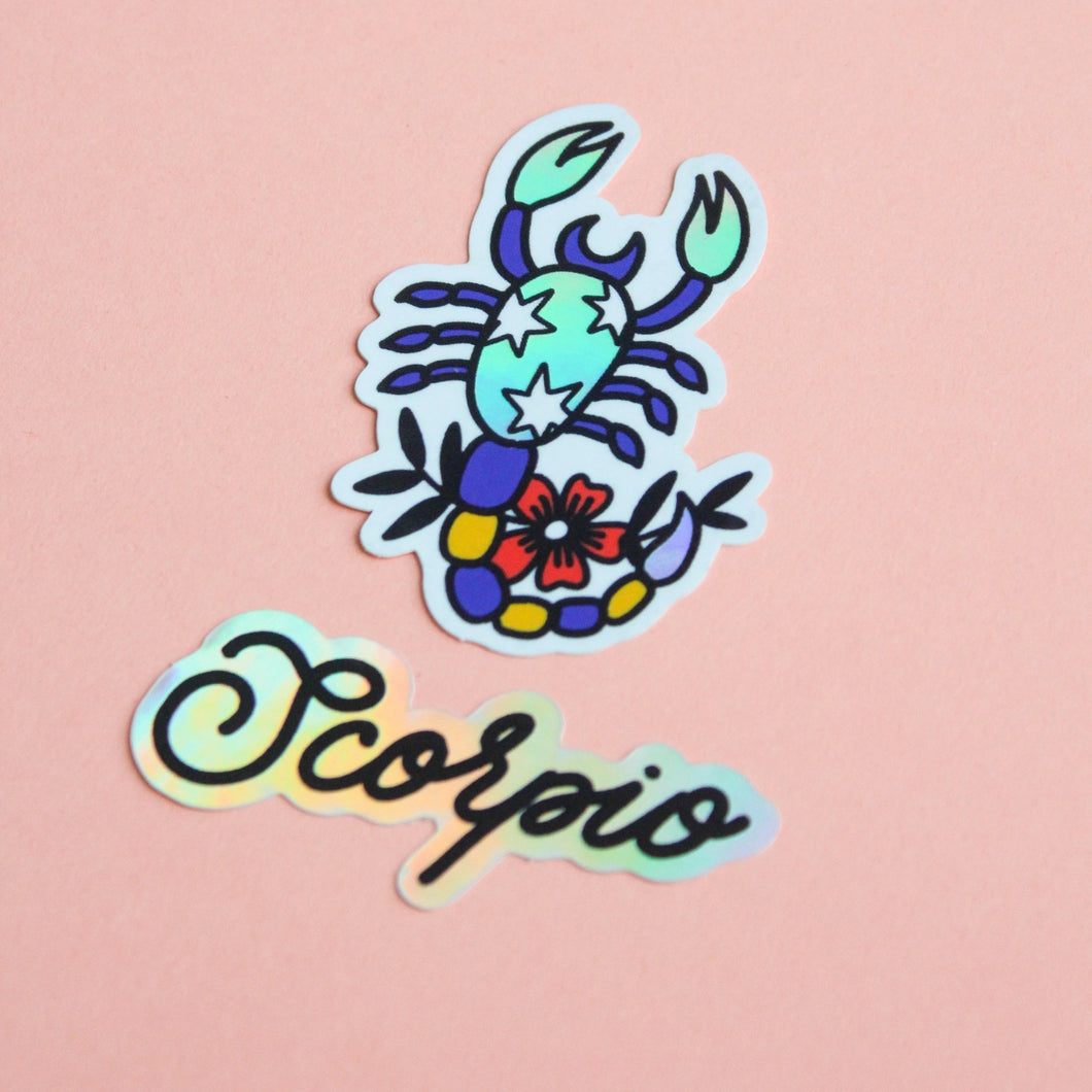 Horoscope Sticker Set - Scorpio