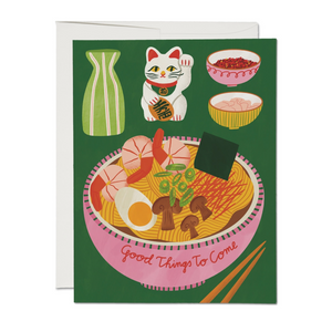 Good Things to Come Ramen Card