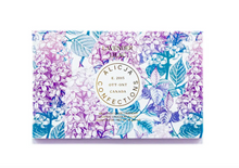 Load image into Gallery viewer, Lavender Lilac Milk Postcard Chocolate Bar