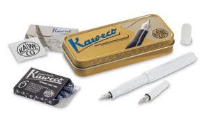 Mini Calligraphy Set - White / Kaweco