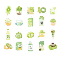 Load image into Gallery viewer, Drink Series - Matcha Sticker Pack