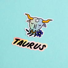 Load image into Gallery viewer, Horoscope Sticker Set - Taurus