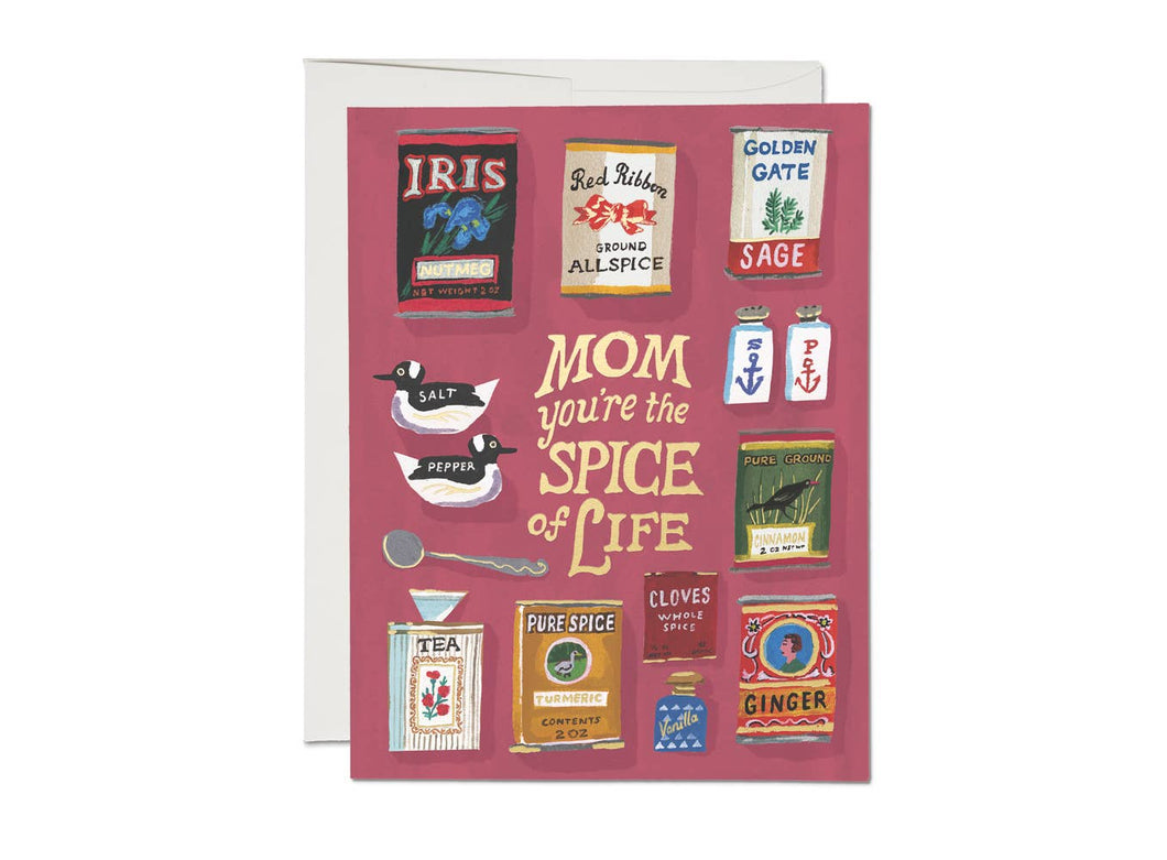 Spicy Mom Card