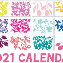 Load image into Gallery viewer, 2021 Botanical Calendar