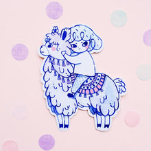 Load image into Gallery viewer, Alpaca Vinyl Sticker