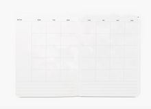 Load image into Gallery viewer, Monthly Planner - Large Blank Undated